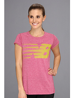 SALE! $19.25 - Save $16 on New Balance Elite Heather Tee (Sangria) Apparel - 45.00% OFF $35.00