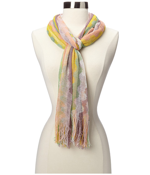 Missoni - Cannelita Scarf (Yellow/Green) Scarves