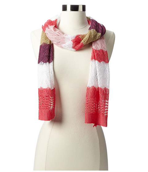 Missoni - Silvia Scarf (Pink/Gold) Scarves