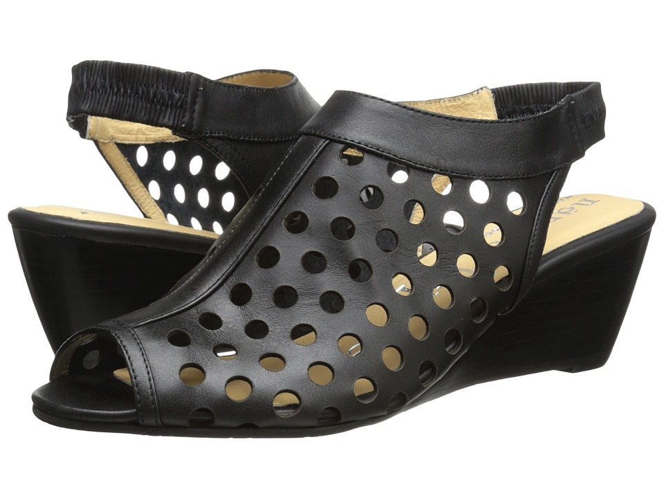 Nanette nanette lepore - Hot Stud Wedge (Black 1) Women's Shoes