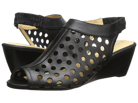Nanette Lepore - Hot Stud Wedge (Black 1) Women's Shoes