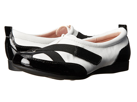 Taryn Rose - Tarina (White) Women's Slip on Shoes