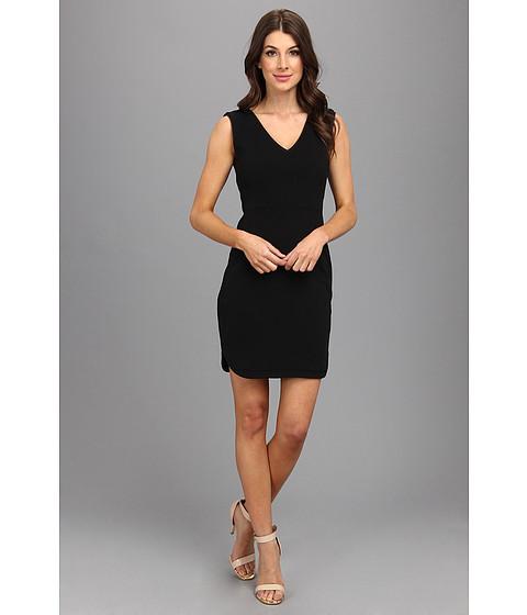 Ivy & Blu Maggy Boutique - Crepe Sheath Dress (Black) Women's Dress