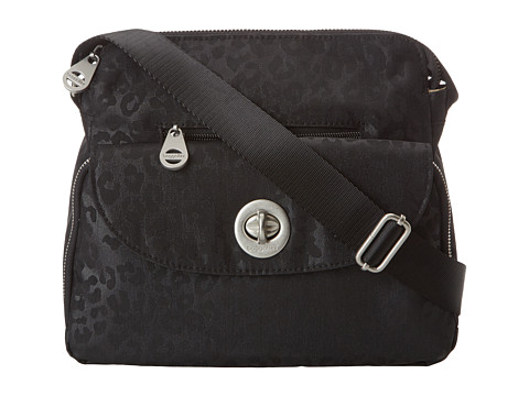 Baggallini - Provence Crossbody (Cheetah Black) Cross Body Handbags