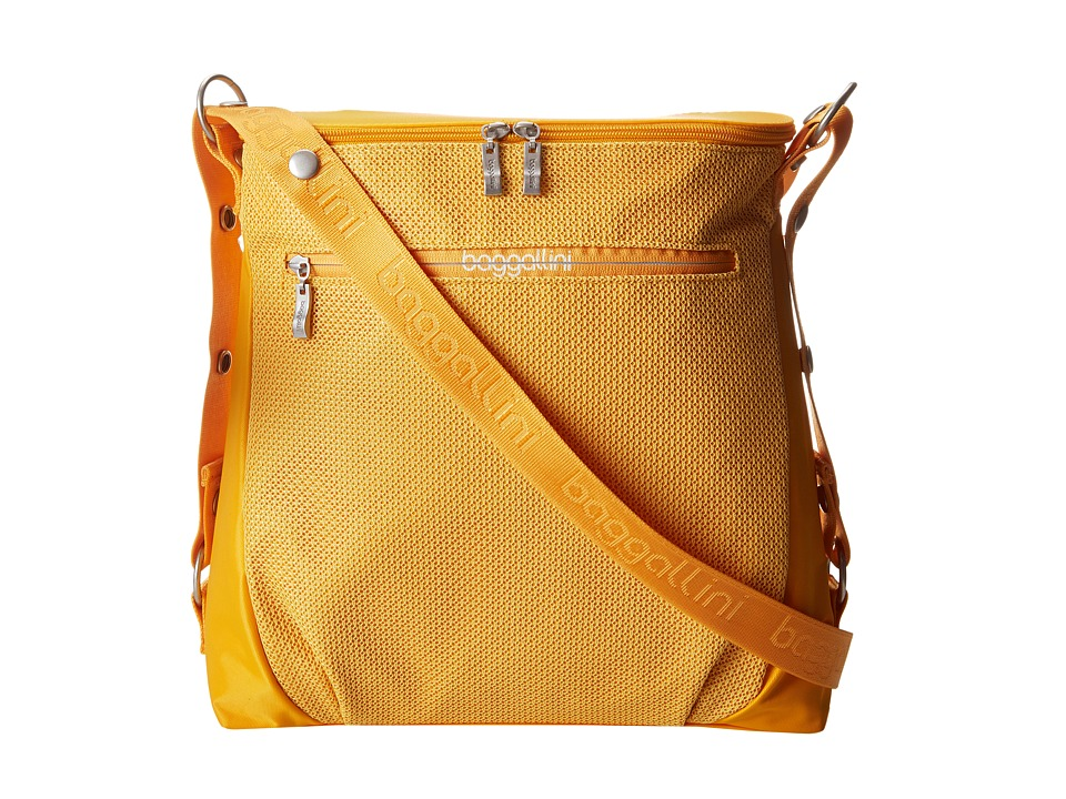 Baggallini - Brisk Bag (Saffron) Messenger Bags