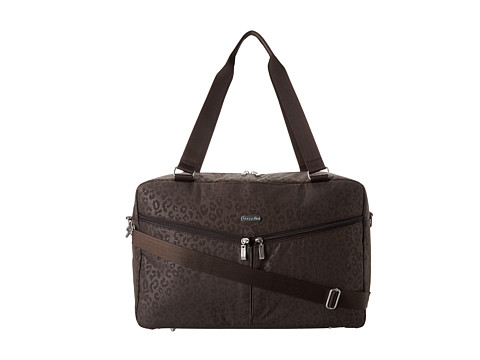 Baggallini - Transport Carryall (Cheetah Espresso) Weekender/Overnight Luggage