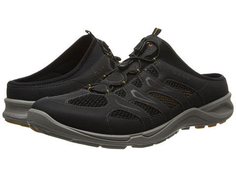Ecco Performance - Terracruise Slide (Black/Black/Dried Tobacco Synthetic/Textile/Decoration) Men's Shoes