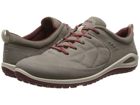 ECCO Sport - Biom Grip Lite (Warm Grey/Warm Grey/Port Yabuck/Suede/Decoration) Women's Shoes