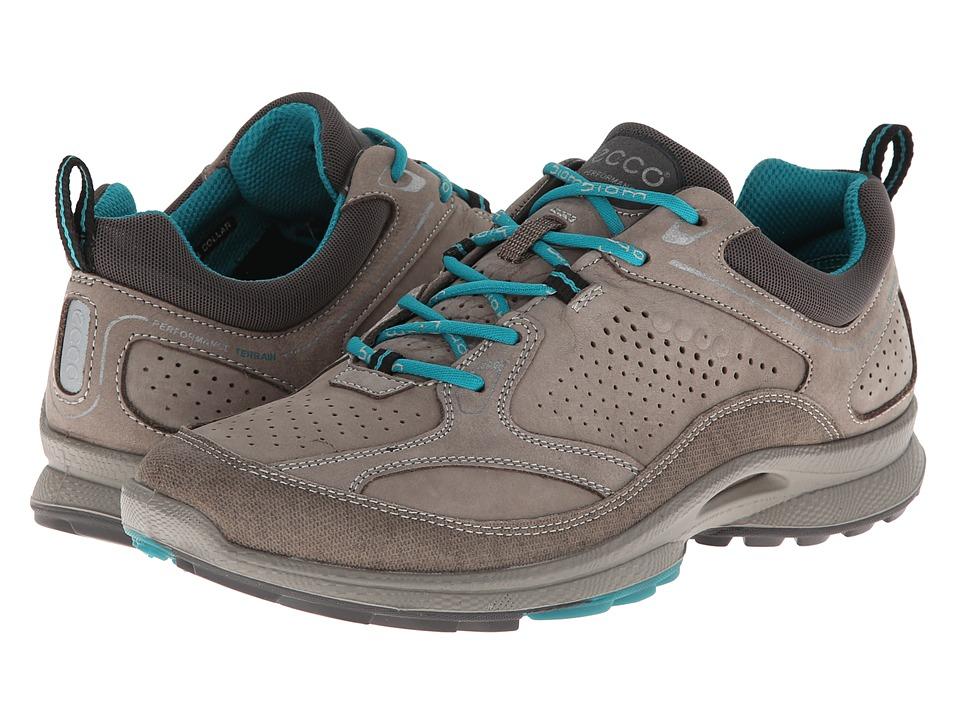ECCO Sport - Biom Ultra Quest Plus (Warm Grey/Warm Grey/Fanfare Synthetic/Yabuck/Decoration) Women's Lace up casual Shoes
