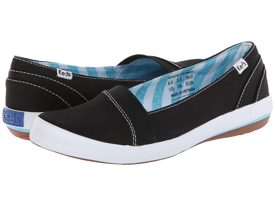 Keds - Cali Slip-On (Black) Women's Shoes