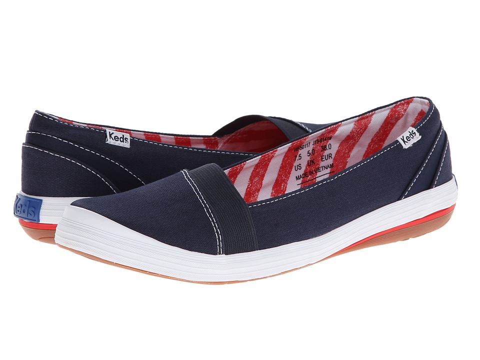 Keds - Cali Slip-On (Navy) Women's Shoes