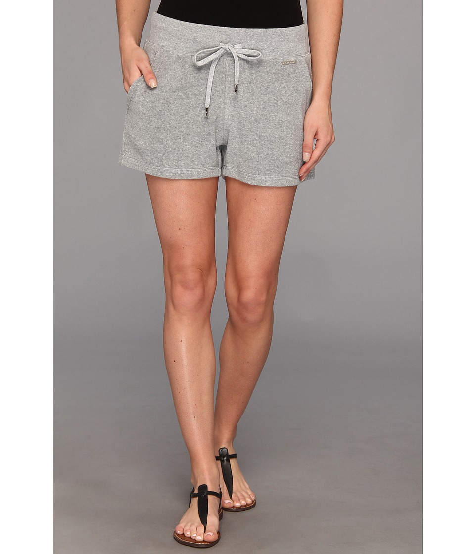 MICHAEL Michael Kors - Terry Shorts (Pearl Heather) Women's Shorts