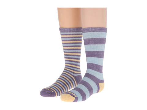 Wigwam - Lexi 2-Pack (Iris) Women's Crew Cut Socks Shoes