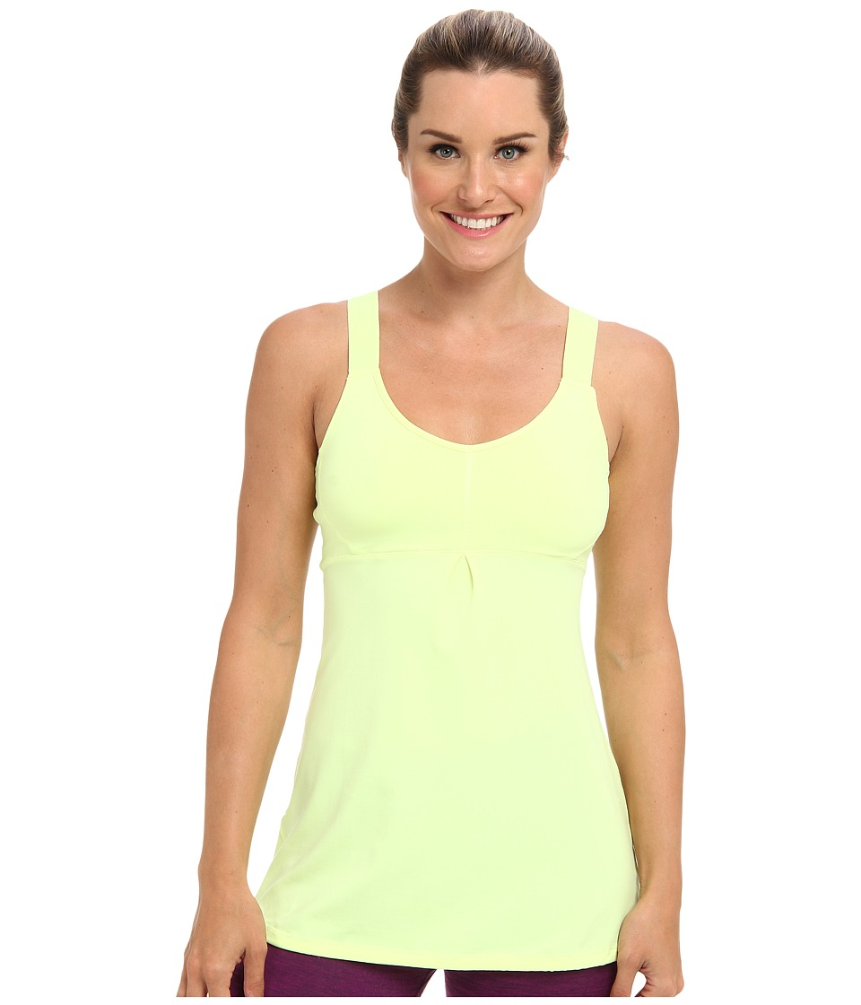 Lucy - Perfect Pose Tunic (Light Key Lime Neon) Women's Workout
