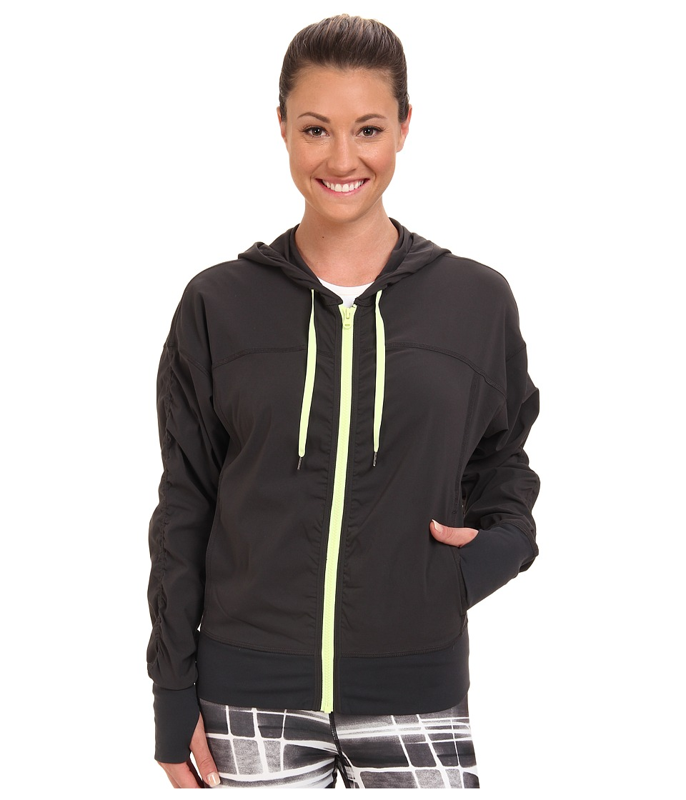 Lucy - Get Going Jacket (Fossil/Light Key Lime Neon) Women