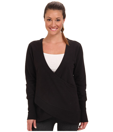 Lucy - Yoga Girl Pullover (Lucy Black) Women's Long Sleeve Pullover