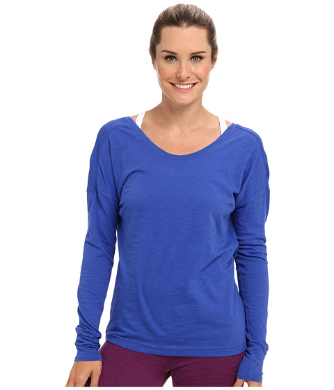Lucy - Perfect Pose L/S (Brillant Blue) Women's Workout