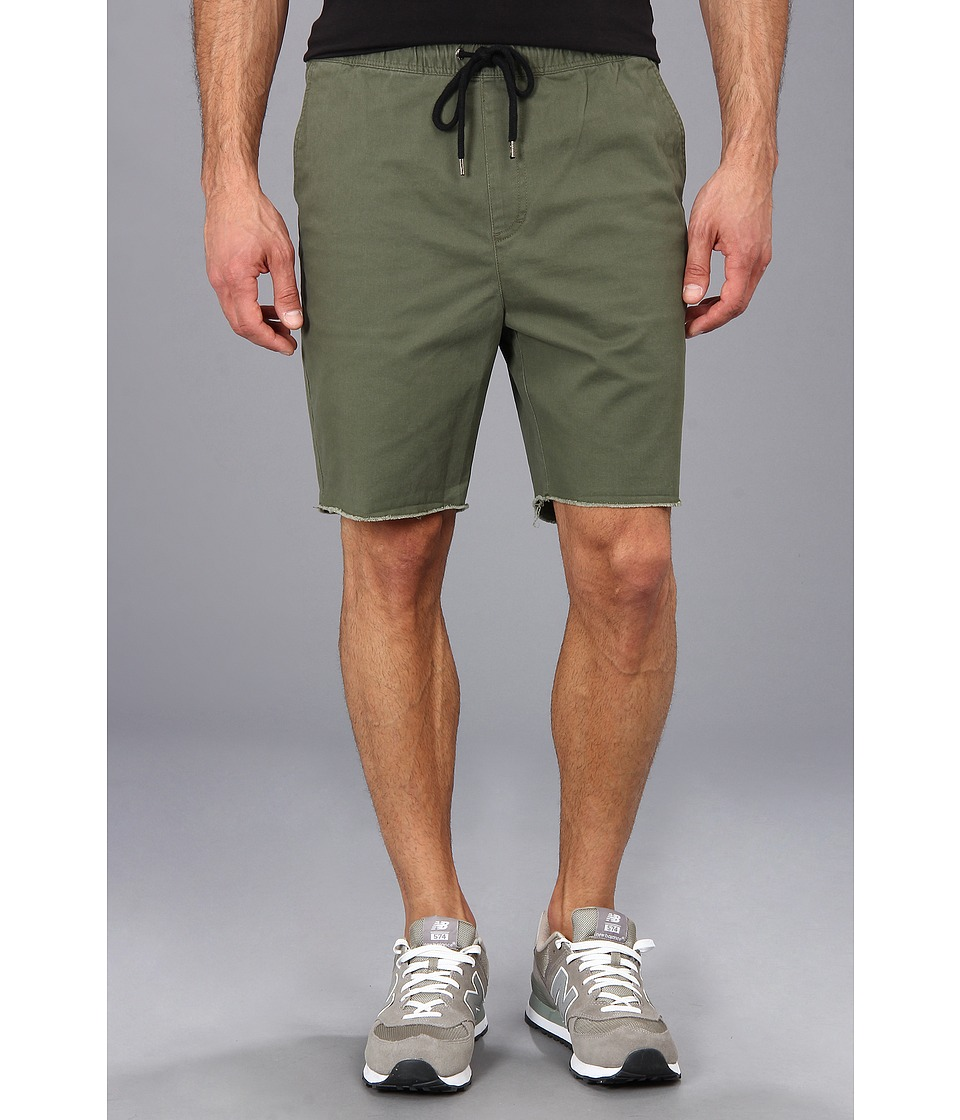 Brixton - Madrid Short (Olive) Men's Shorts
