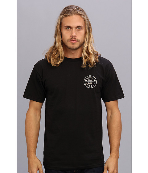 Brixton - Standard Fit Oath S/S Tee (Black) Men's T Shirt