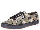 Superga 2750 COTCAMOU (Dark Green Camouflage)