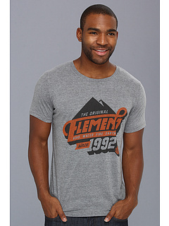 SALE! $14.99 - Save $13 on Element Mounty S S Tee (Grey Heather) Apparel - 46.46% OFF $28.00