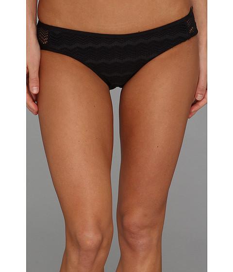 Volcom - Beat Street Modest Bottom (Black) Women's Swimwear
