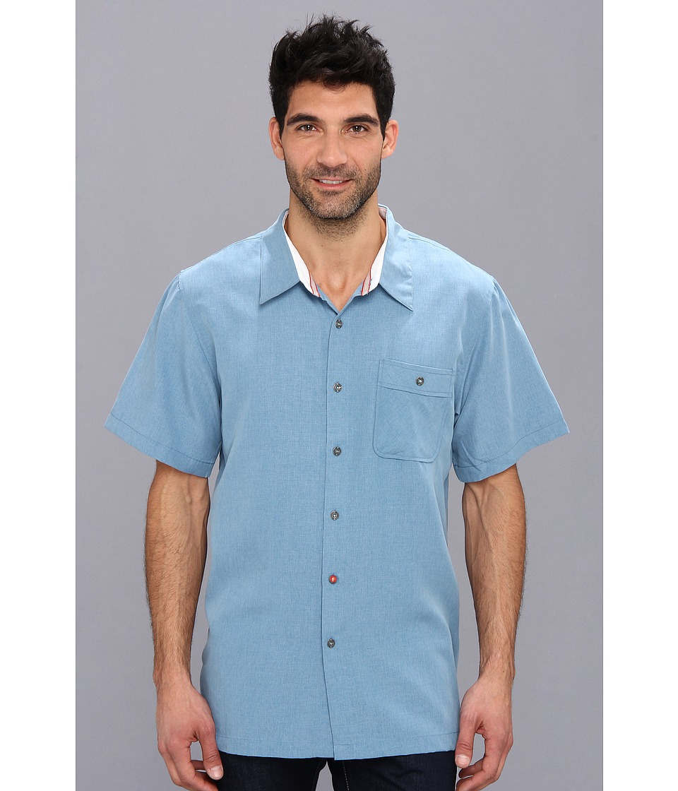 Toes on the Nose - Griller Woven (Uniform Blue) Men's Clothing