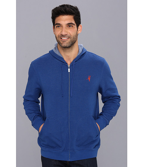 Toes on the Nose - Monogram Fleece (Blue) Men