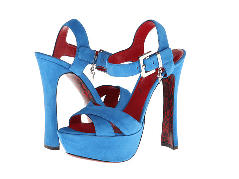 Cesare Paciotti - H571210 (Vit. Camoscio Azzurro) High Heels