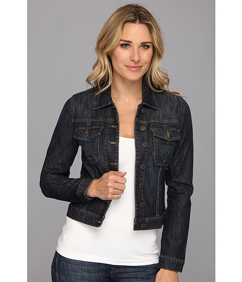 KUT from the Kloth - Amelia Denim Jacket in Gratitude (Gratitude) Women