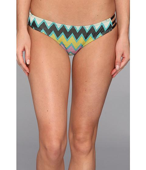 Volcom - Zaggered Modest Bikini Bottom (Multi) Women's Swimwear