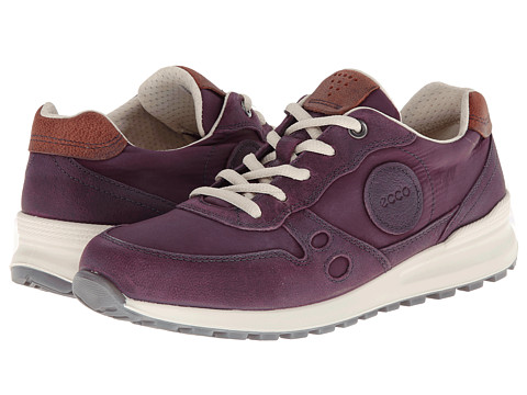 ECCO - CS14 Retro Sneaker (Burgundy/Burgundy/Picante) Women's Lace up casual Shoes