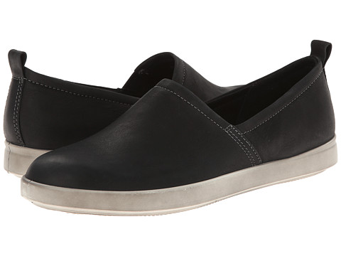ECCO - Aimee Slip On (Black) Women's Slip on Shoes