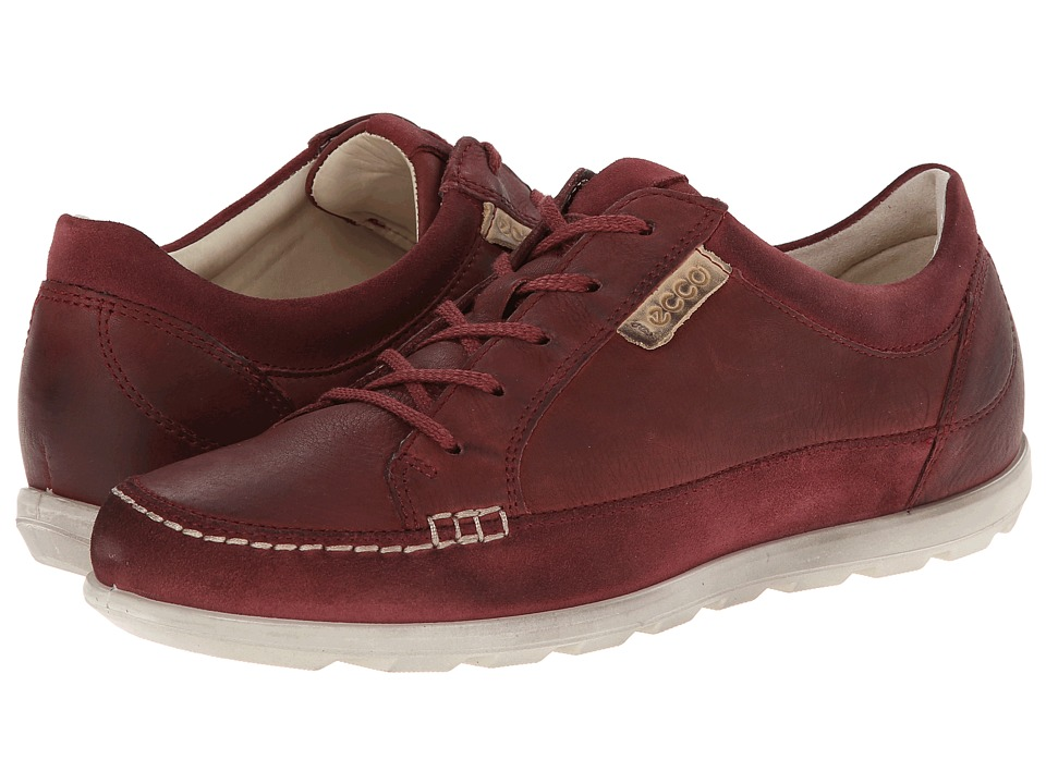 ECCO - Cayla Tie (Port/Port) Women's Lace up casual Shoes