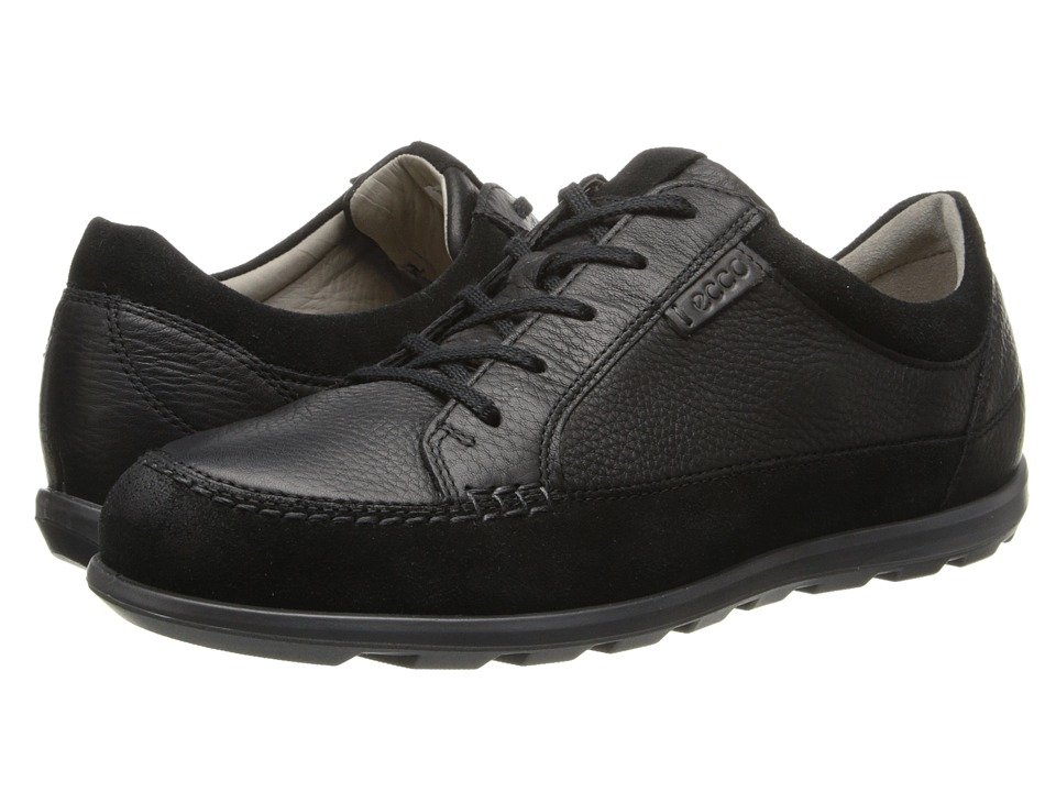 ECCO - Cayla Tie (Black/Black) Women's Lace up casual Shoes