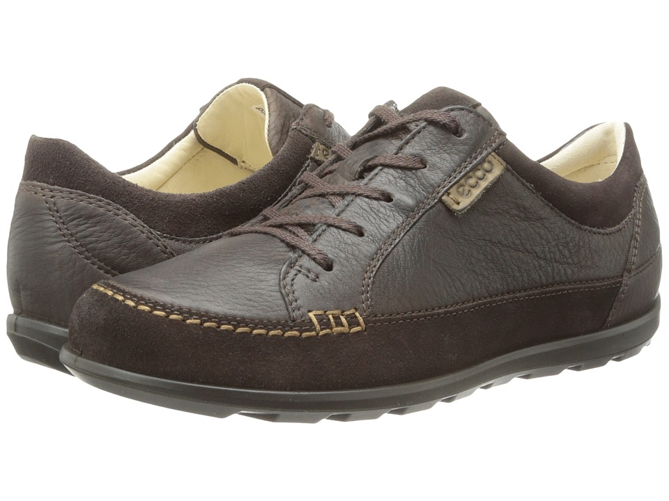 ECCO - Cayla Tie (Mocha/Coffee) Women's Lace up casual Shoes