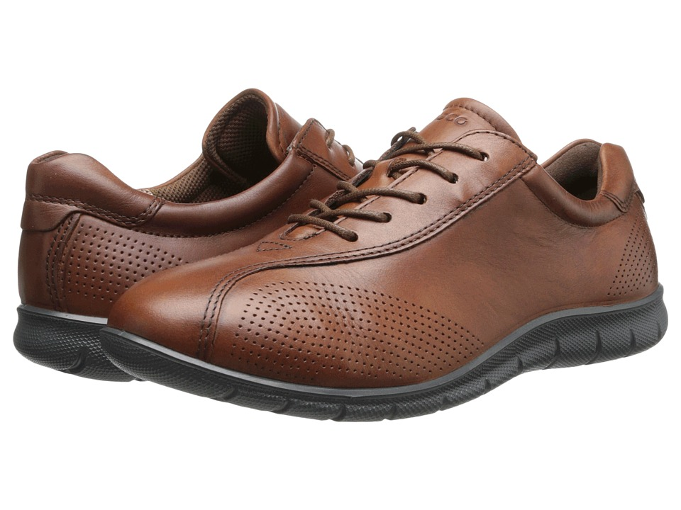 ECCO - Babett Tie (Mahogany) Women's Lace up casual Shoes