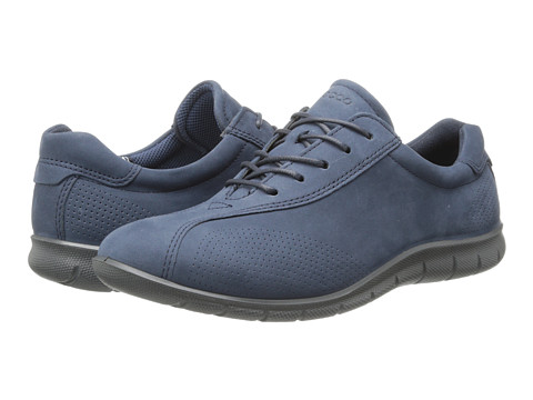ECCO - Babett Tie (Marine) Women's Lace up casual Shoes