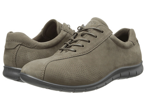 ECCO - Babett Tie (Dark Clay) Women's Lace up casual Shoes