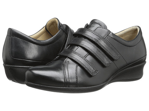 ECCO - Abelone 3 Strap (Black) Women's Shoes