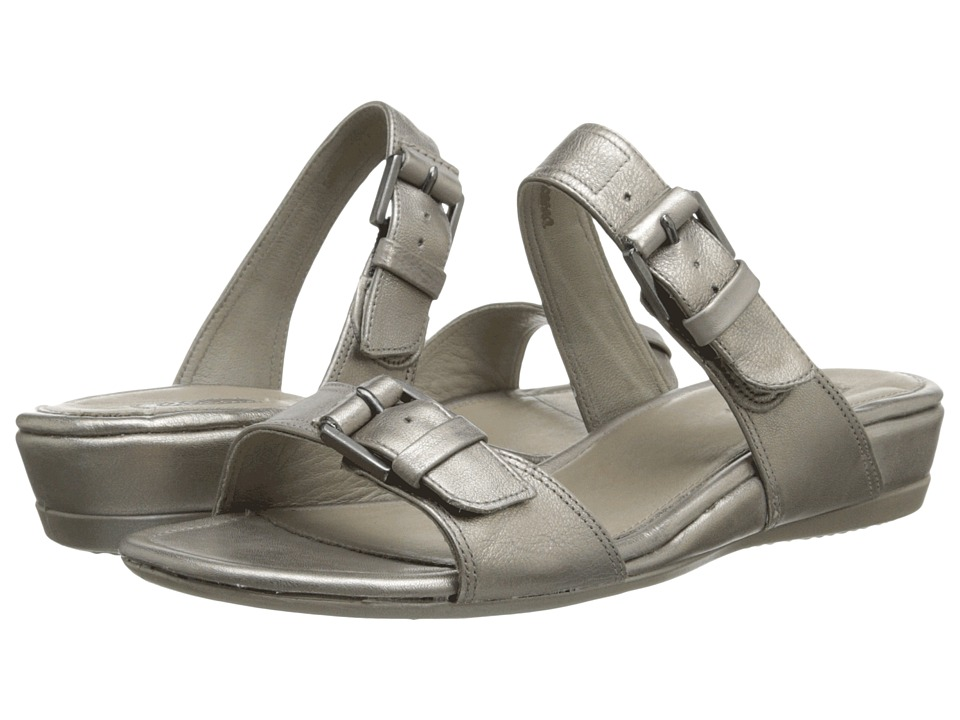 ECCO - Touch 25 Slide (Moon Rock) Women's Sandals plus size,  plus size fashion plus size appare