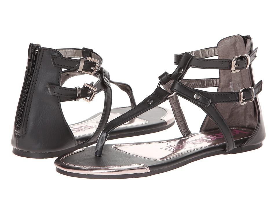 kensie girl Kids KG30989 Girls Shoes (Black)
