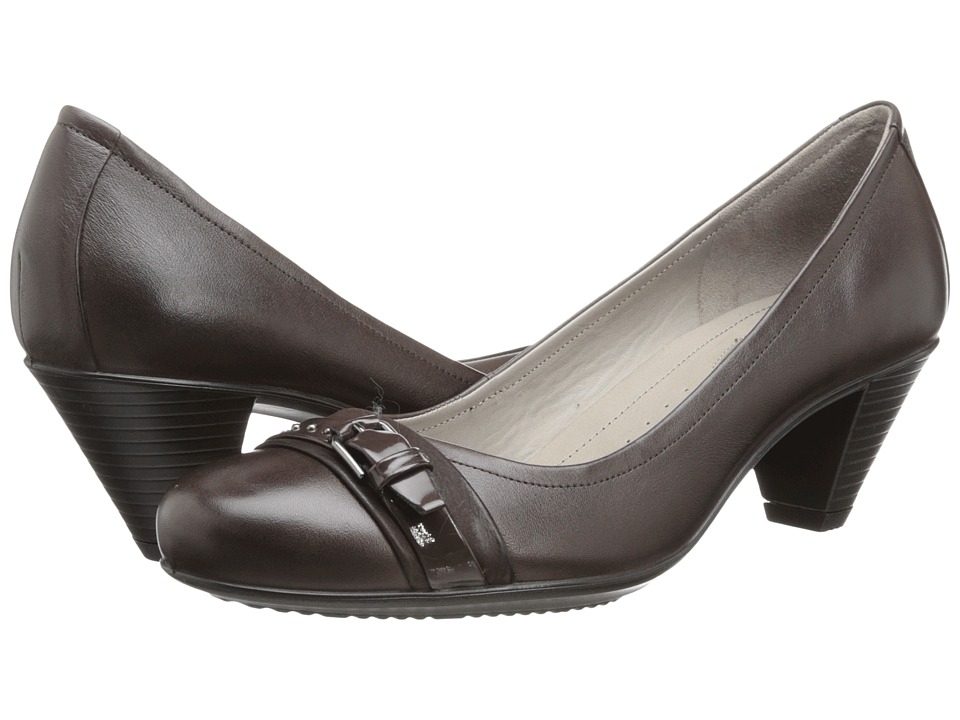 ECCO - Touch 50 Buckle (Coffee) High Heels