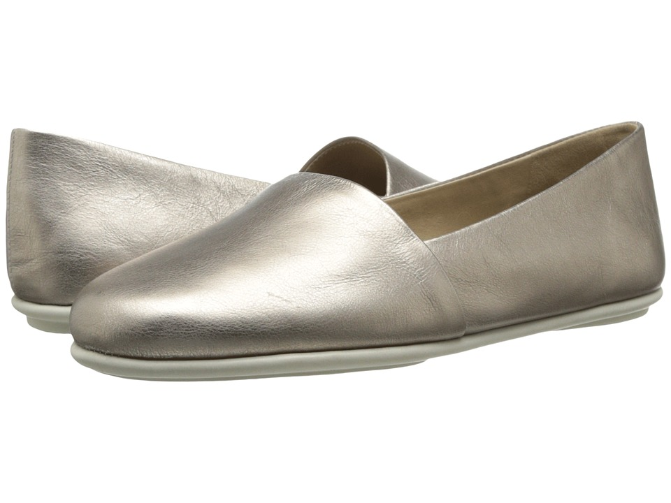ECCO - Osan Loafer (Moon Rock) Women's Slip on Shoes