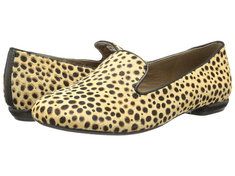 ECCO - Perth Loafer (Cheetah Print) Women's Slip on Shoes