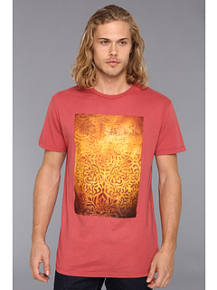 SALE! $14.99 - Save $14 on Obey Shepard Floral Thrift Tee (Mineral Red) Apparel - 48.31% OFF $29.00