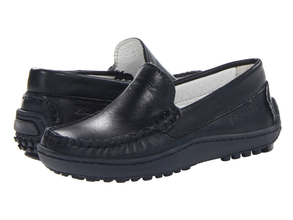 Primigi Kids - Nathan (Toddler/Little Kid/Big Kid) (Navy Nappa) Boys Shoes