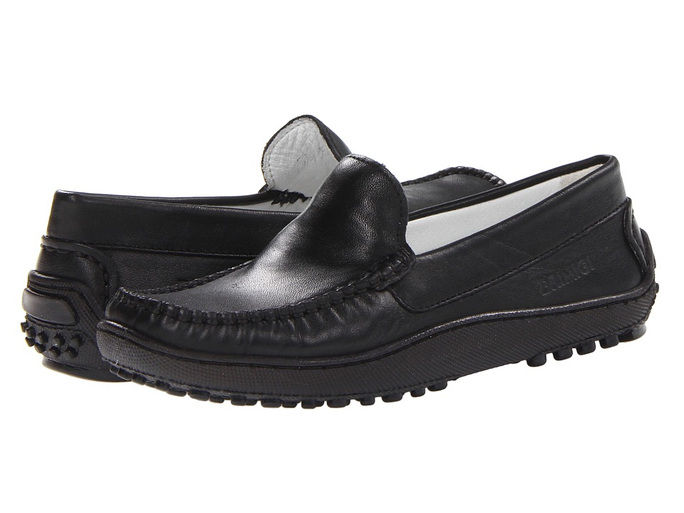 Primigi Kids - Nathan (Little Kid) (Black Nappa Leather) Boys Shoes