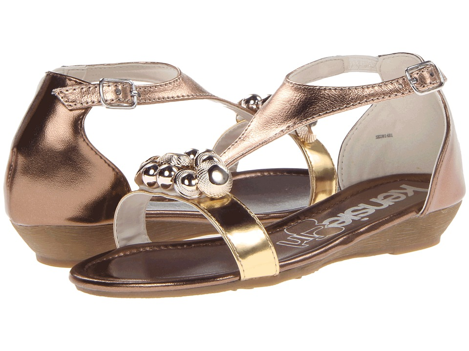 kensie girl Kids KG22137 Girls Shoes (Gold)