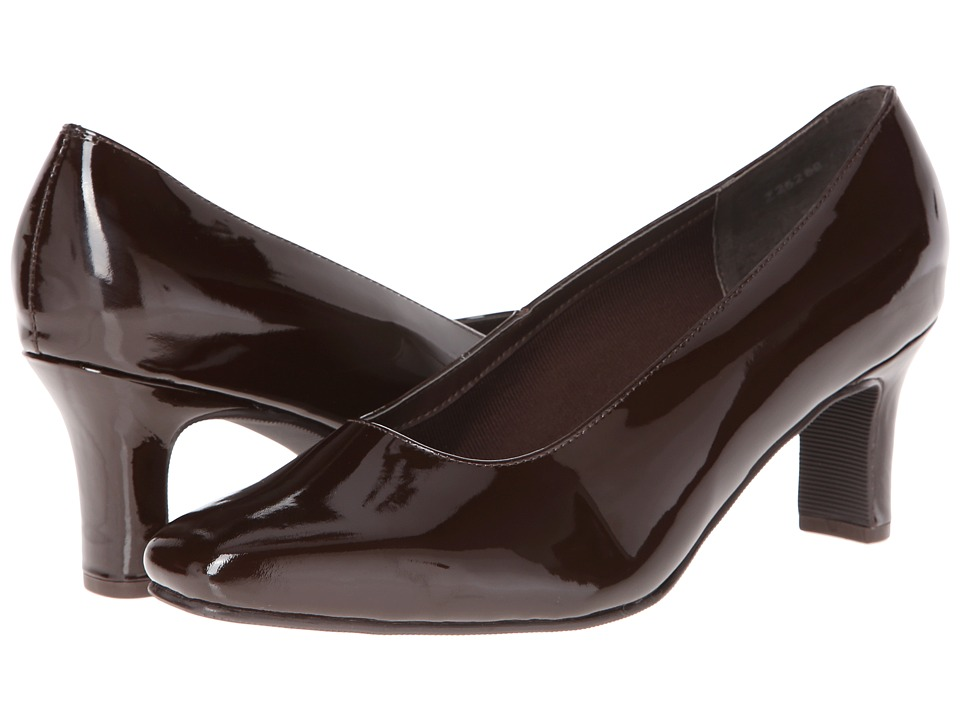 Fitzwell - Vincent (Brown Patent) High Heels